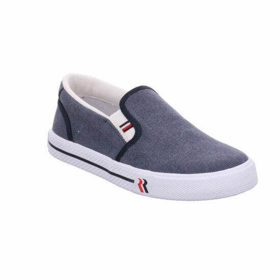 Romika férfi kék vászoncipő