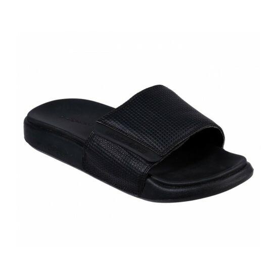 Skechers Gambix 2.0 fekete papucs