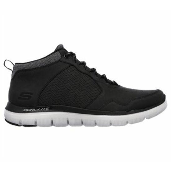 Skechers fekete magas szárú cipő