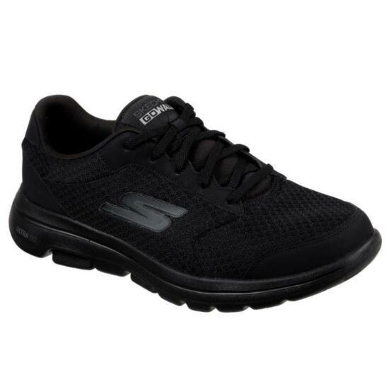 Skechers Go Walk 5 Qualify fekete férfi félcipő - extra széles