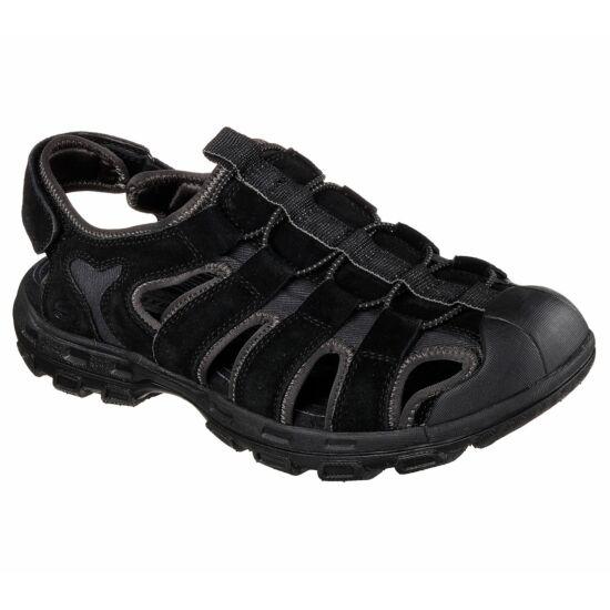 Skechers Relaxed Fit Conifer - Selmo fekete szandálcipő