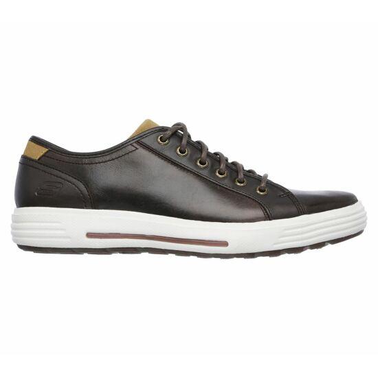 Skechers sötétbarna férfi utcai cipő