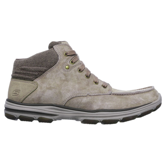 Skechers világosbarna magas szárú cipő