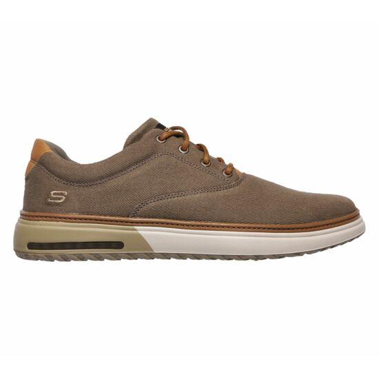Skechers khaki férfi vászoncipő