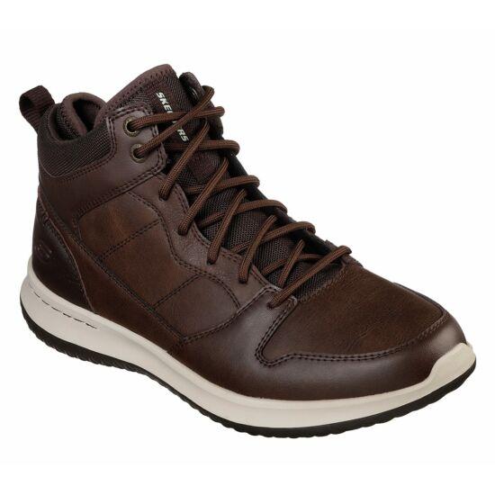 Skechers barna férfi magas szárú bőrcipő