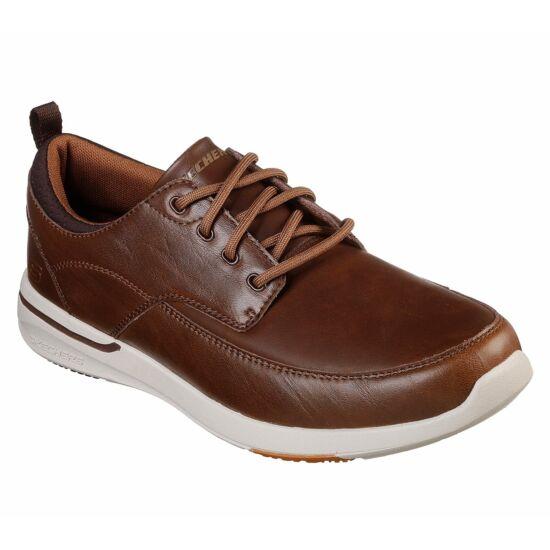Skechers Relaxed Fit Elent Leven bőr utcai cipő