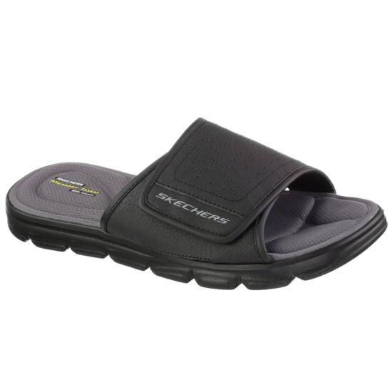Skechers Wind Swell fekete papucs