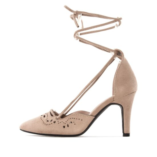 Andres Machado bézs női alkalmi cipő