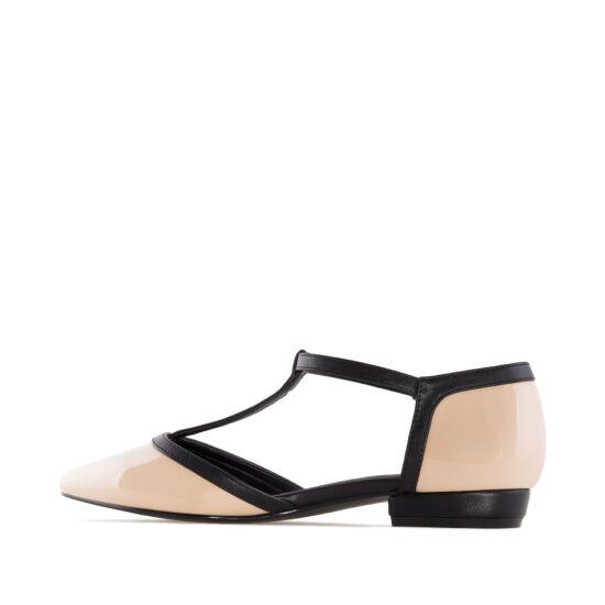0561ac41b3 Andres Machado bézs-fekete női alkalmi cipő - 44 - Óriás-Shop ...