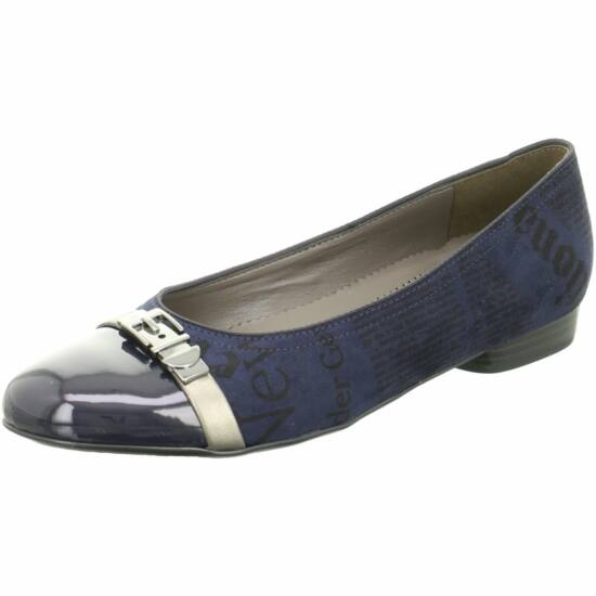 Ara sötétkék balerina cipő