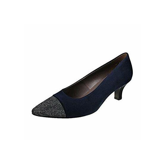 Ara sötétkék alkalmi cipő köves orral