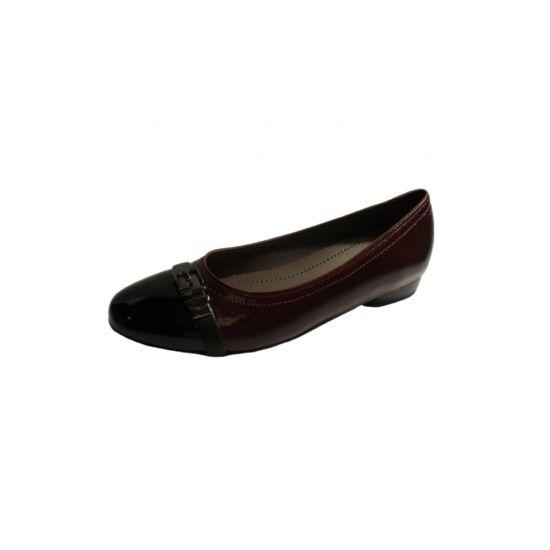 Ara bordó balerina cipő