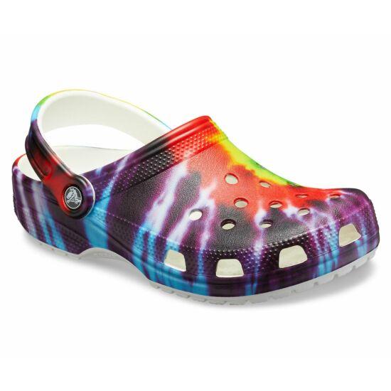 Crocs Classic Tie Dye Graphic Multi Unisex Clog