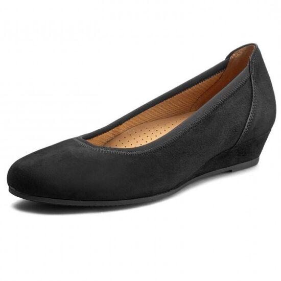 Gabor fekete éktalpú balerina cipő
