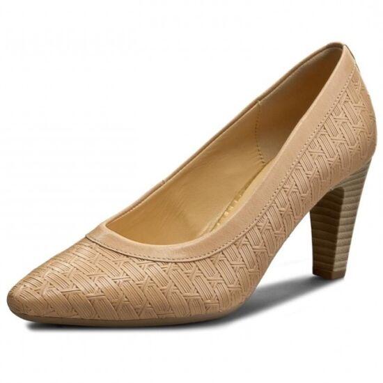 Gabor fonott mintájú női alkalmi cipő