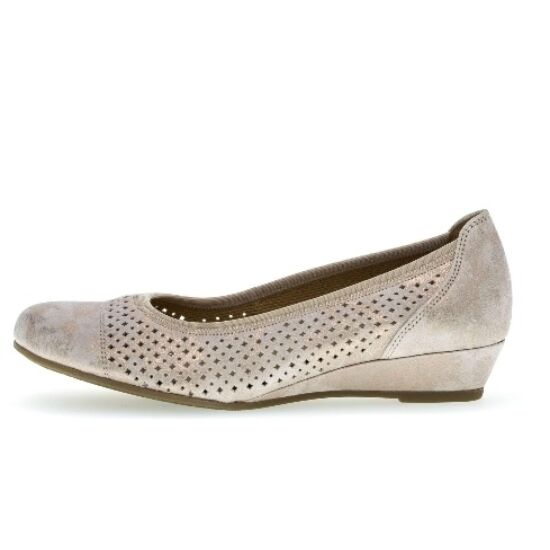 Gabor lyukacsos balerina cipő