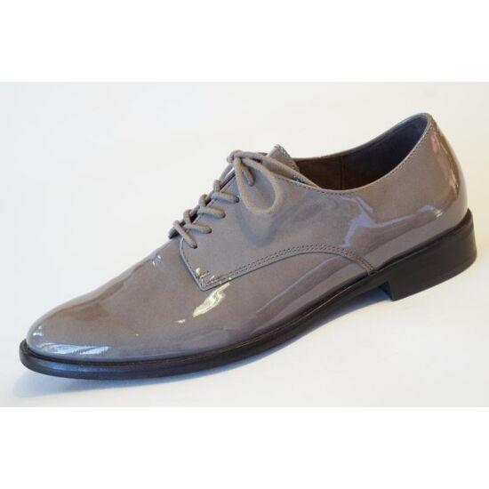 Gabor szürke lakk női cipő