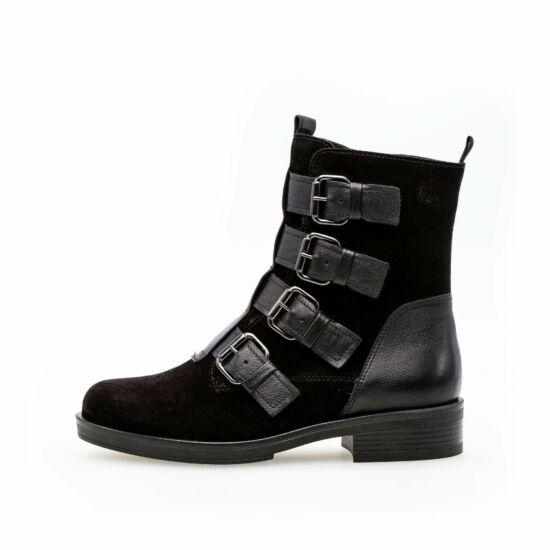 Gabor fekete magasszárú cipő