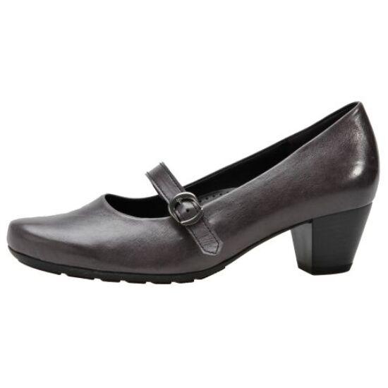 Gabor sötétszürke csatos cipő