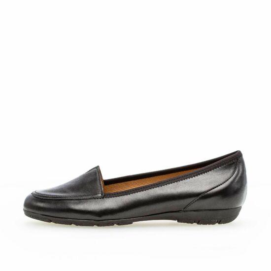 Gabor fekete balerina cipő