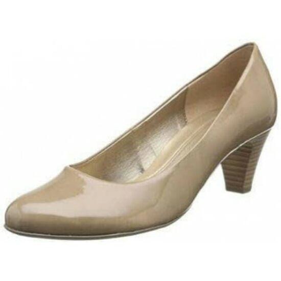 Gabor bézs lakk alkalmi cipő