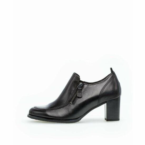 Gabor fekete zárt cipő sarokkal