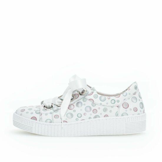 Gabor fehér fűzős sneaker