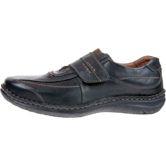 """Josef Seibel ALEC fekete férfi cipő tépőzáras """" K """" szélesség"""