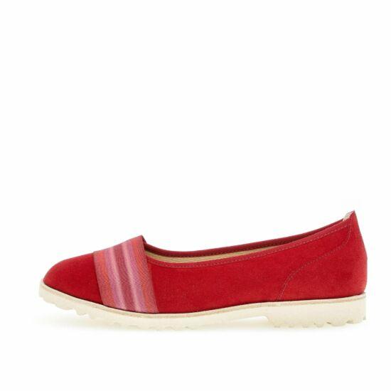 Gabor piros sportos balerina cipő