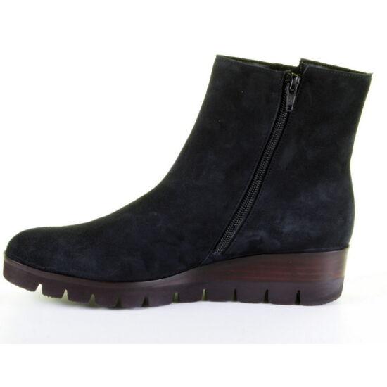 Gabor sötétkék éktalpú félszárú cipő