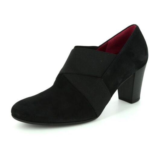 Gabor fekete gumis női cipő
