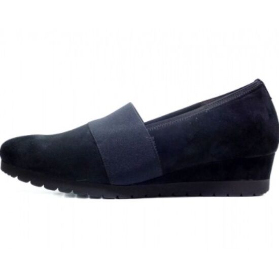 Gabor sötétkék telitalpú cipő