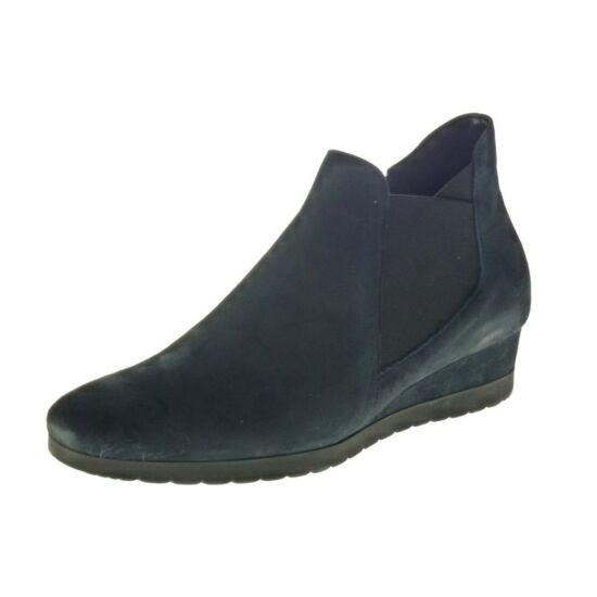 Gabor sötétkék telitalpú félszárú cipő
