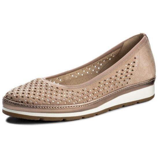 Gabor gold köves-lyukacsos cipő