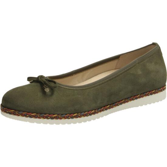 Gabor zöld balerina cipő