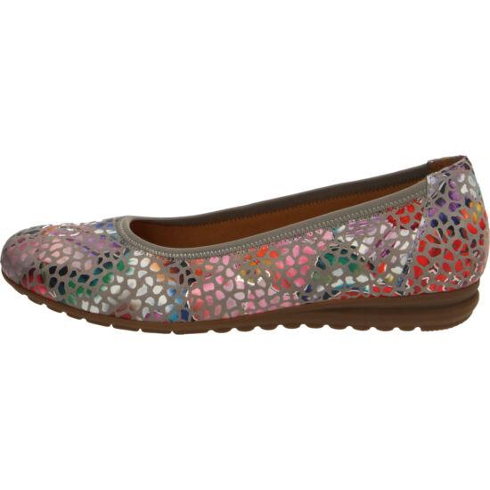 Gabor mozaik mintás balerina cipő