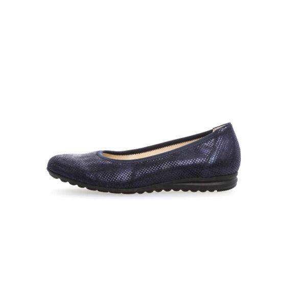 Gabor kék balerina cipő