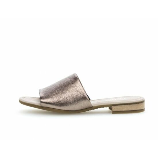 Gabor bronz papucs