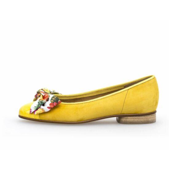9cd4ada663 Gabor sárga masnis balerina cipő - 42 1/2 - Óriás-Shop nagyméretű ...