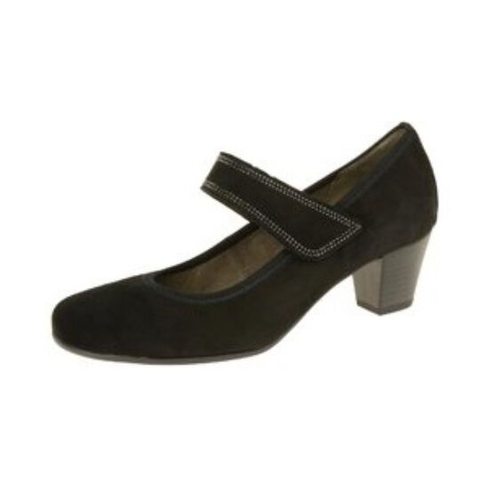Gabor fekete pántos cipő