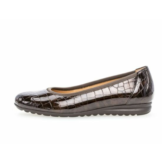 Gabor lakk barna balerina cipő