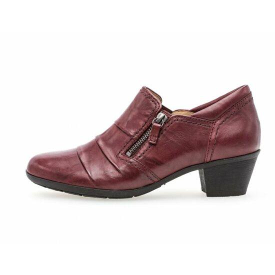 Gabor sötétvörös női cipő