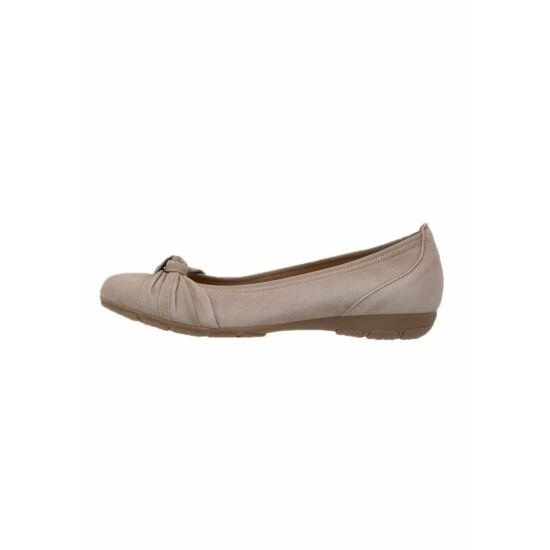 Gabor beige balerina cipő