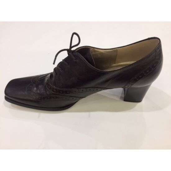 Gabor sötétbarna fűzős női cipő