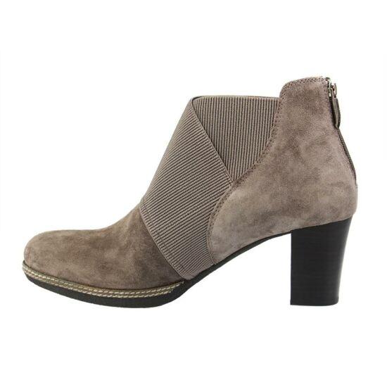Gabor szürke női cipő hátul cipzár