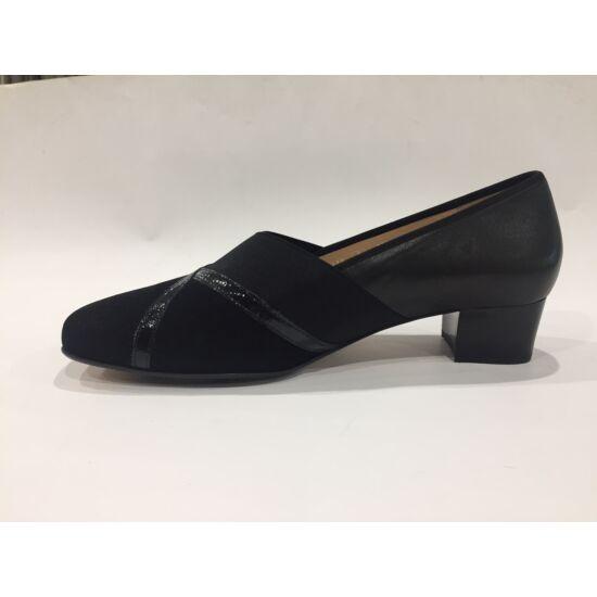 Hassia fekete női alkalmi cipő