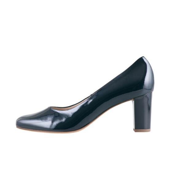 Högl sötétkék alkalmi cipő