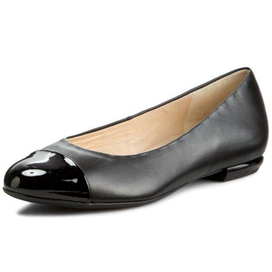 Högl fekete balerina cipő lakk orral - 44 - Óriás-Shop nagyméretű ... fb8426df69
