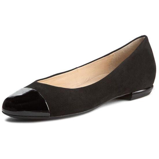 Högl fekete balerina cipő