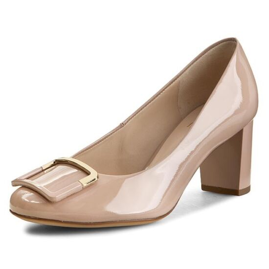 Högl beige csatos alkalmi cipő